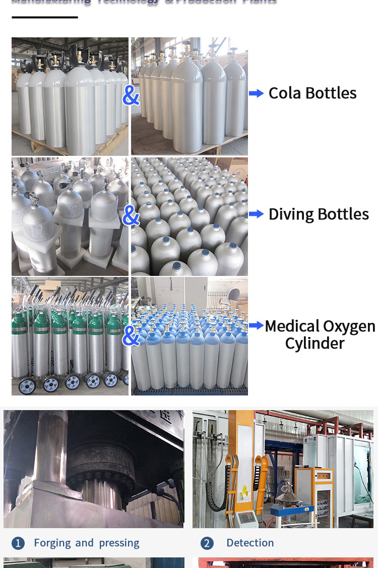 Empty CO2 Fire Extinguisher Cylinder For Sale