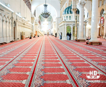 Top sale guaranteed quality printed mosque prayer carpet for prayering
