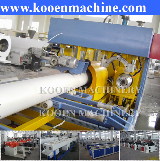 New technology automatic upvc pvc plastic pipe tube hose extruding extruder production making line machines