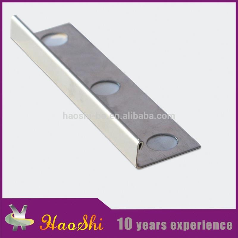 Fushifu quality assurance export product 304 Stainless Steel ceramic tile trim