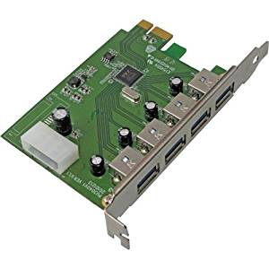 "Visiontek Products, Llc - Visiontek Usb 3.0 Pcie Expansion Card - Pci Express - Plug-In Card - 4 Usb Port(S) ""Product Category: I/O & Storage Controllers/Usb/Firewire Adapters"""