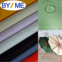 100% polyester taffeta 190T pu pvc coated waterproof raincoat fabric