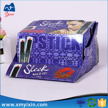 paper template cardboaed display lipstick box packaging buy