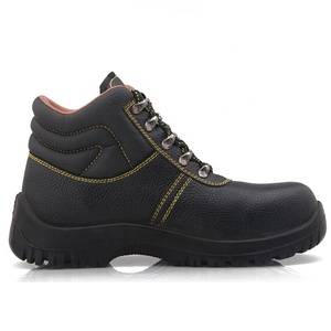 High Quality Genuine leather CE certificate Wholesale cheap price Steel Toe Cap Mining Safety Boots In kuwait SNB1237