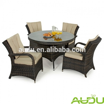 Audu European Style Pe Rattan Patio