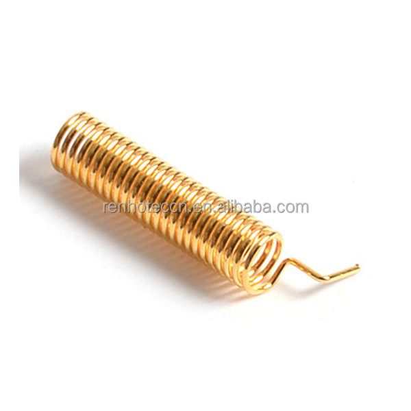 gold plated digital 433mhz spring <strong>antenna</strong>
