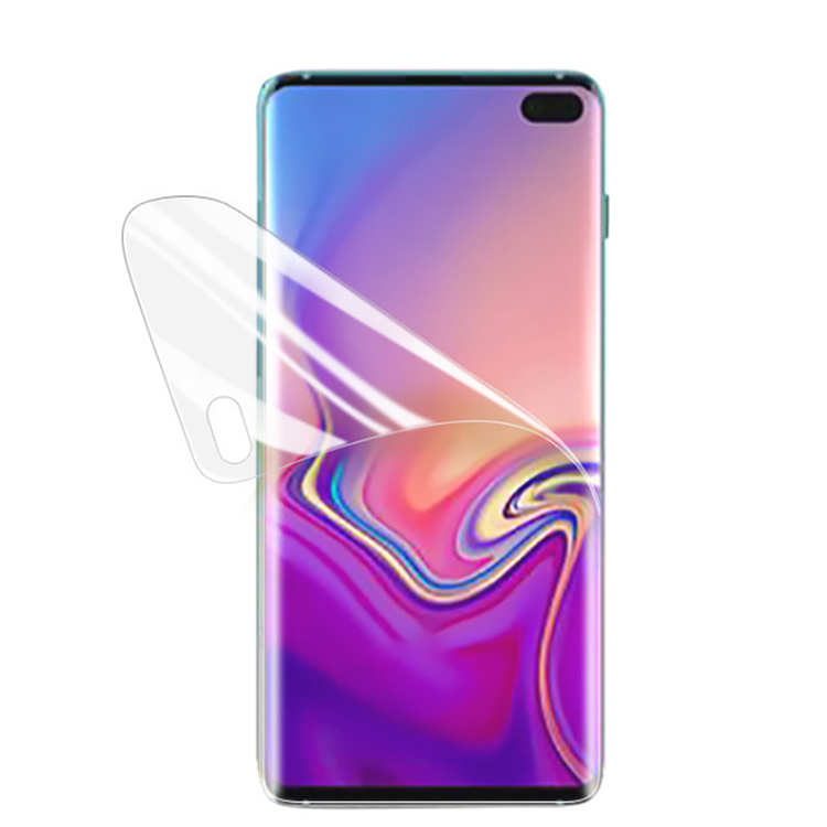 Hot Products Full Cover Screen For Samsung Galaxy S10 S10 Plus S10 Lite Screen Protector for Samsung S10 Lite Soft TPU Film