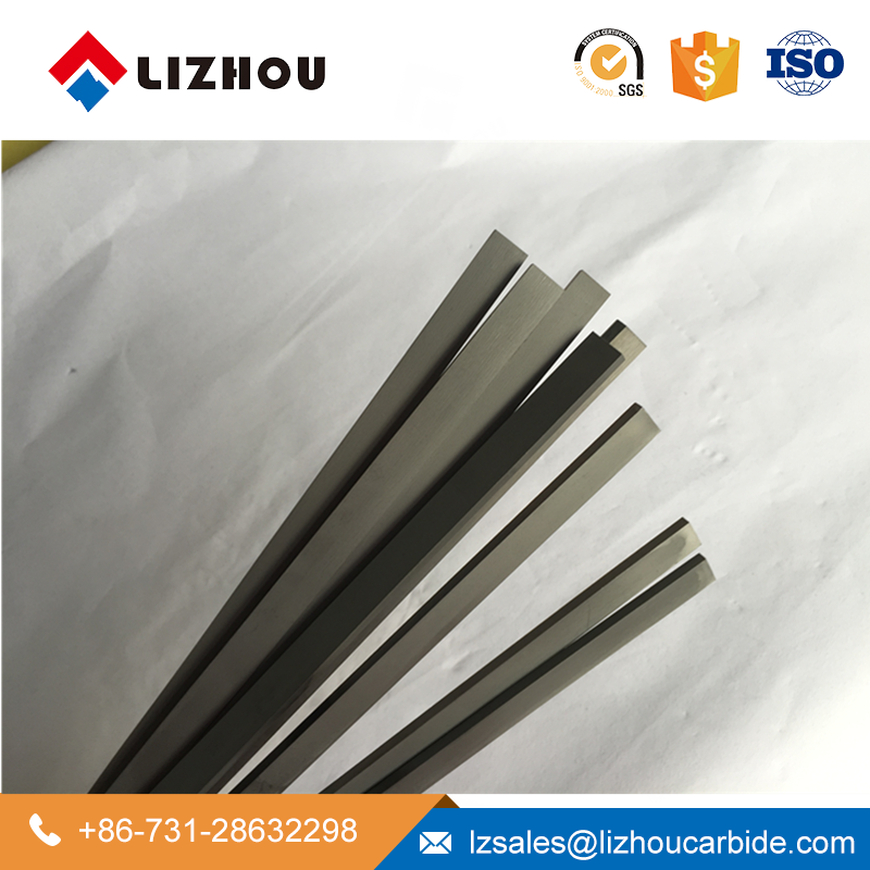 Cheap price 0.8mm Thickness Carbide Flat Bars with Good Wear resistance