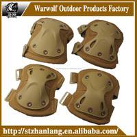 Military army surplus Armor Combat Knee and Elbow Pads set wholesale TAN