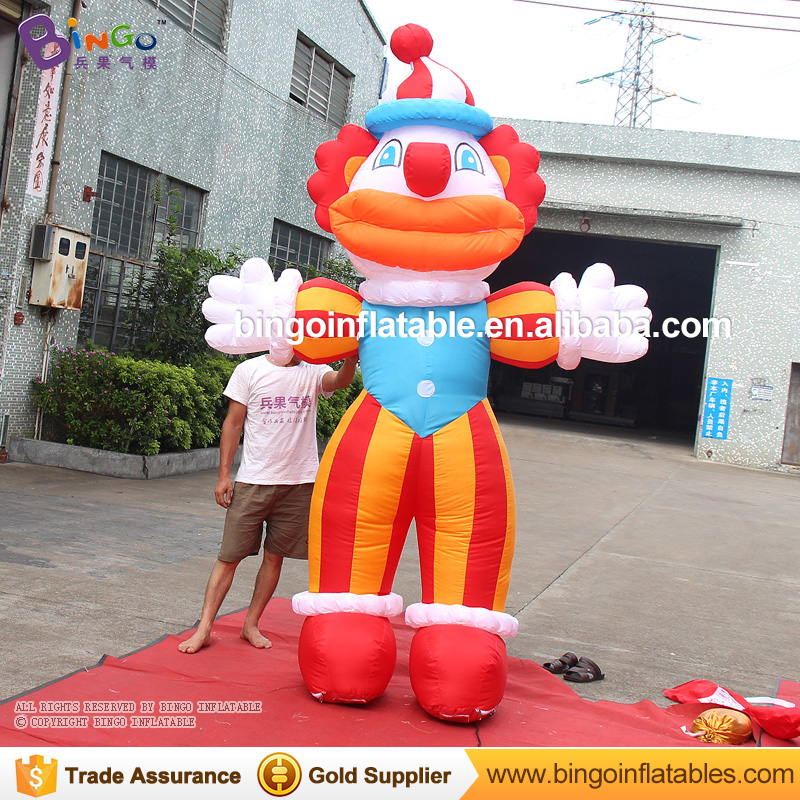 3M or customized famous products advertisement/inflatable buffoon model for sale