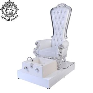 Luxury nail salon foot spa throne pedicure bowl pedicure chair with jet