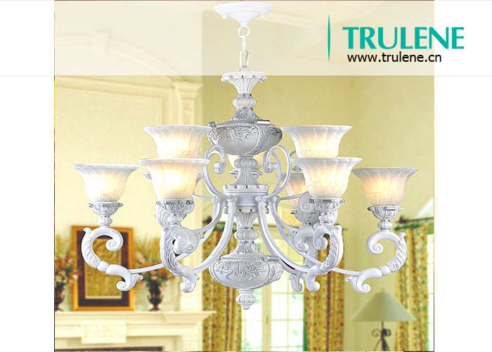 Dining room ceiling light & villa living room project candle gold big crystal chandelier lighting lamp