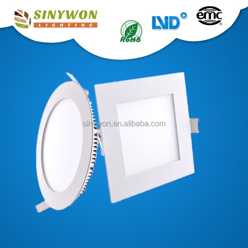 2017 Sinywon 80lm/w Pretty LED with IC driver 24W asian square led panel light led