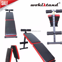 Sit Up Bench Ab Crunch Exercise Board Adjustable Abdominal Workout Home Gym New