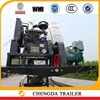 bulk cement trailer using air compressor for cement transportation