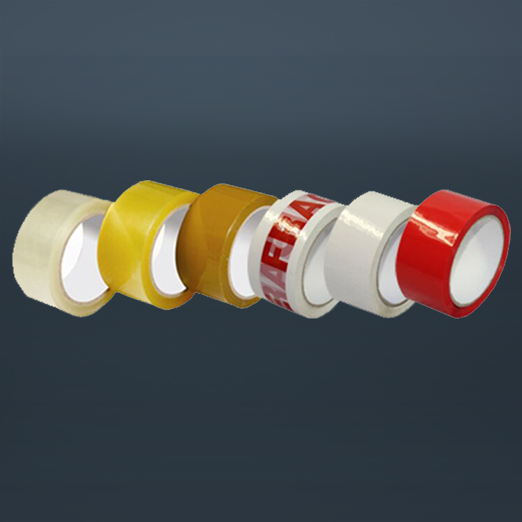 Carton Sealing Products Clear Colored Bopp Packing Tape With Company Logo