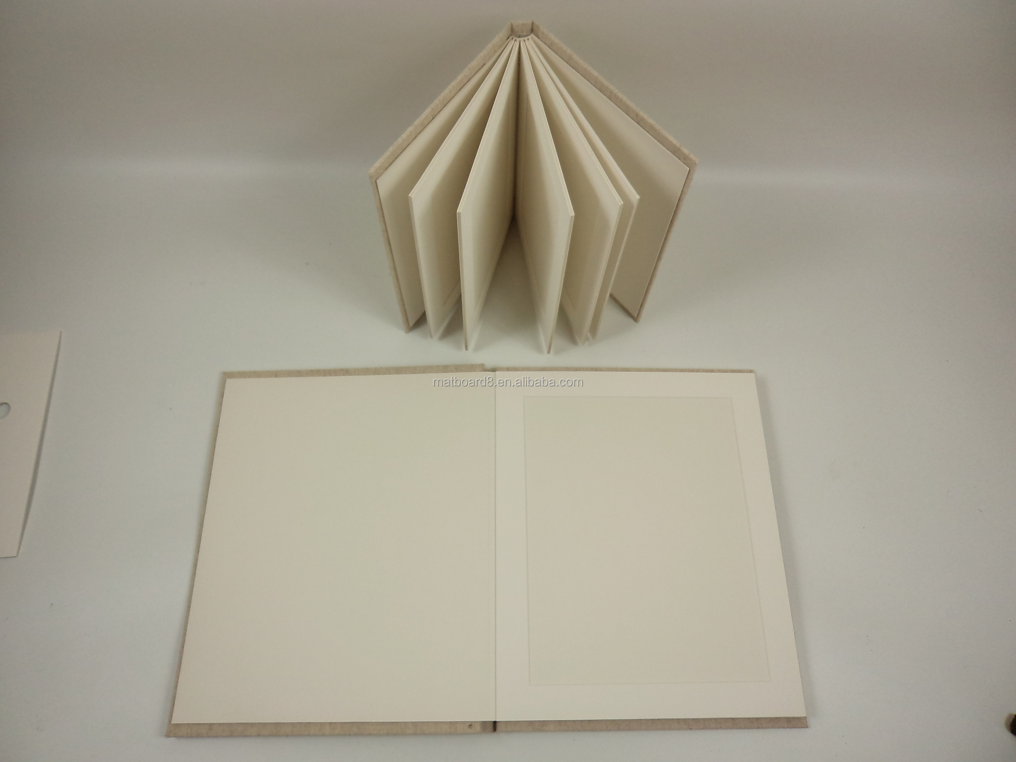 8x10 Slip In Wedding Photo Matted Album Portrait Linen Album Buy