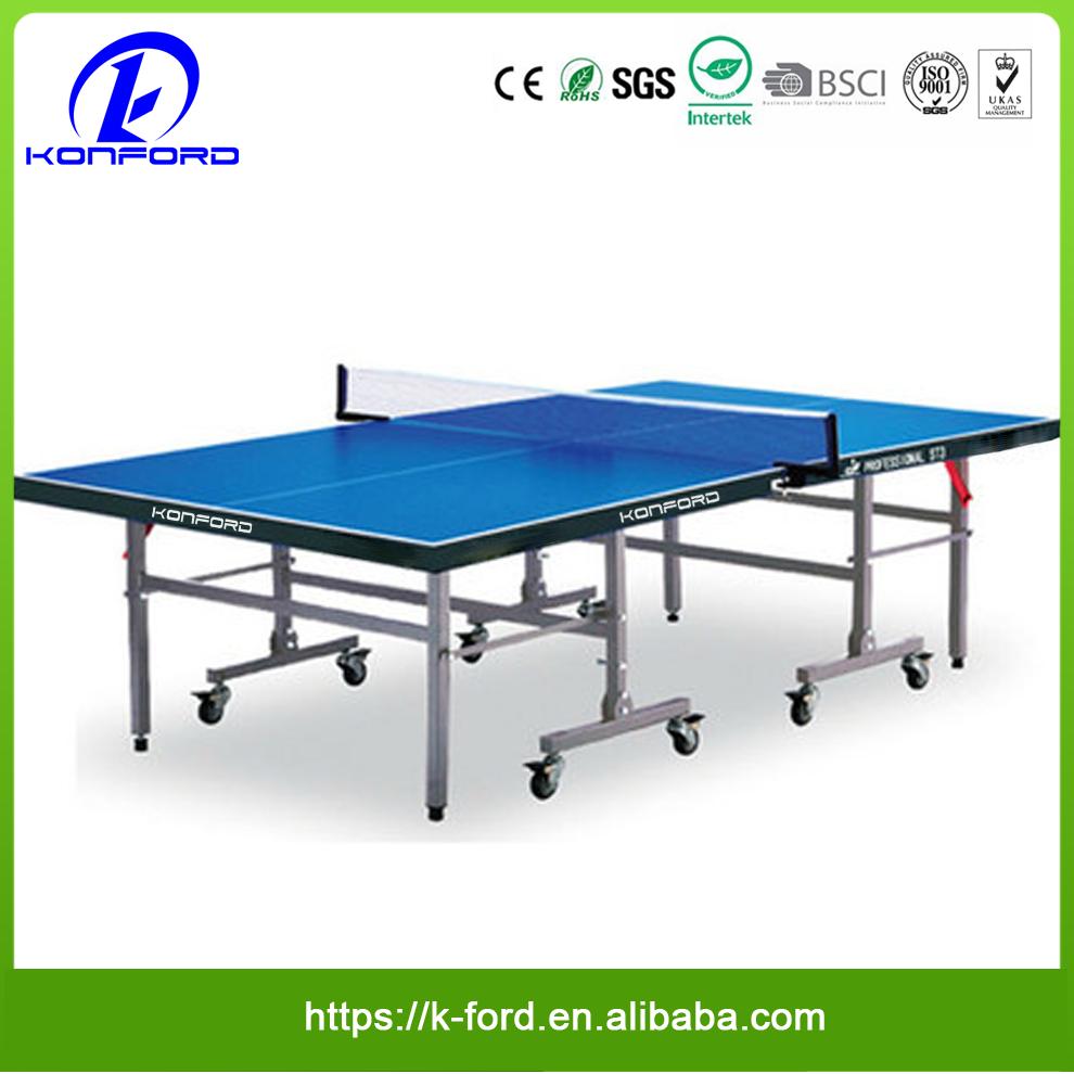 LOGO Design Table Tennis Desk Indoor Outdoor Training Equipment Waterproof  Ping Pong Table