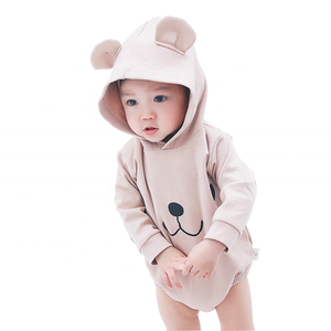 2019 New style cotton plain blank animal unisex infants boutique wear suit newborn jumpsuit baby clothes romper set