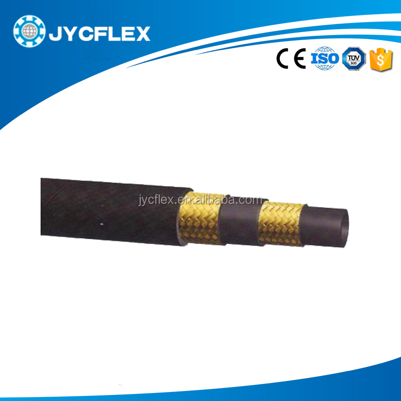 Flexible Hydraulic Hose for Loader , Hydraulic Hose assembly With Fitting