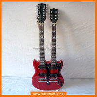 EDB001 Pofessional double Neck Electric Guitars