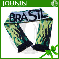 popular custom size and design kinds of artwork acrylic 100% nylon scarves
