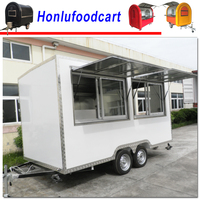 High quality fiberglass water system price of food truck/food truck kitchen design/rent a food truck