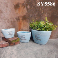 Decoration for garden buy chinese products online cement pot