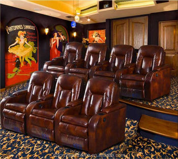Luxury Vip Home Theater Seat Cinema Chair Home Cinema Seats
