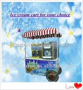 export packing product 2015 new Ice Cream Cart for sale