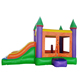 New Design Colorful PVC 0.55 mm Material Inflatable Castle Bouncer With Free Blower For Sale