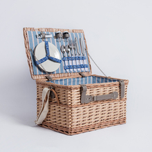 Decorative basket europe style wicker 4 person big picnic basket