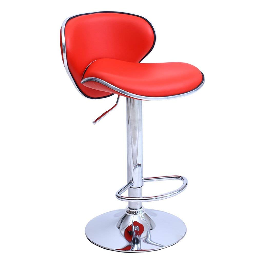 AIDELAI Bar Stool Chair- Bar Stools Upscale Creative Bar Stools Simple Bar Stools Bar Stools High Chair Wild Bar Stools Chair Lift Chair Butterfly Chair Saddle Seat (Color : A)