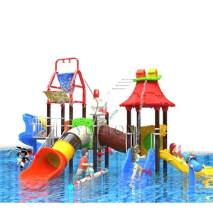 Kids Water Park Large Plastic Water Slide