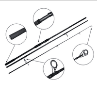 New arrival carbon carp rod blank for carp fishing rod