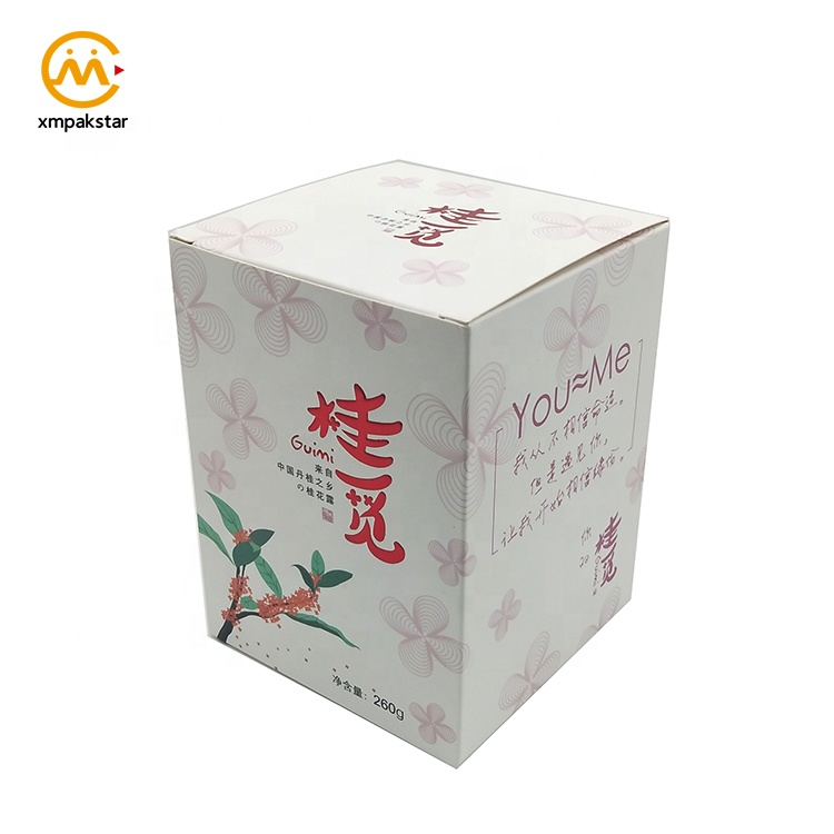 Factory cheap custom printed paperboard paper plain packaging box for products