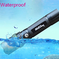 Adjustable Focus CREE Q5 LED Zoomable LED Flashlight Tent Camping Lamp Hiking Lamp Underwater Lights For
