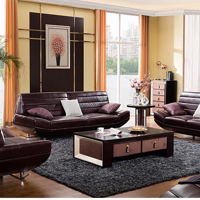 Incroyable Modern Leather Sofa Home Furniture Sectional Sofa High Standard