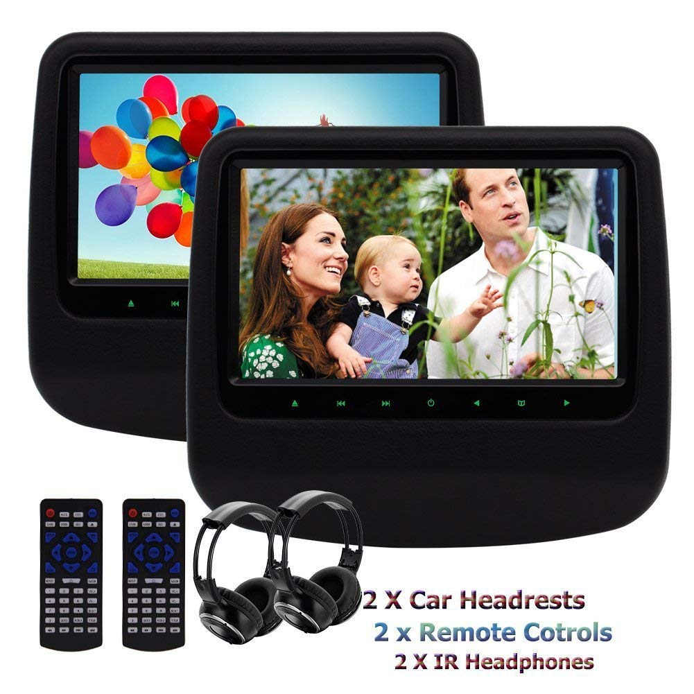 Cheap Car Ir Transmitter Find Deals On Line At Infrared Headphones Circuit Get Quotations Dual Headrest Dvd Player Eincar 9inch 800480 Screen Back Seat Monitor Built In