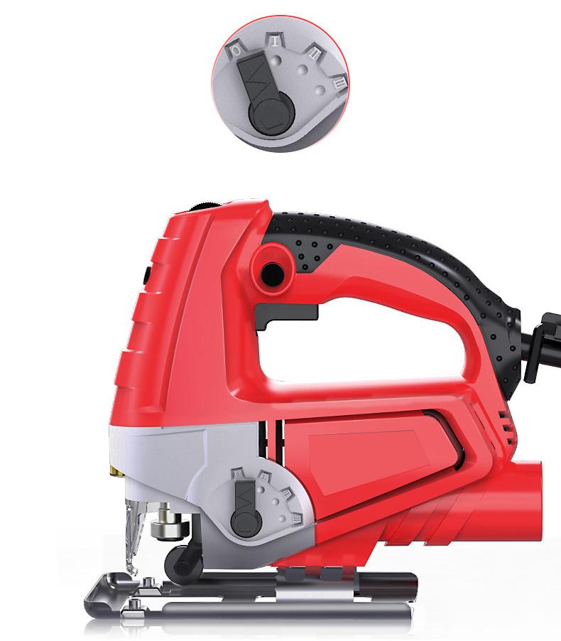 Multifunctional handheld electric jig saws
