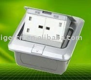 UK style pop-up floor outlet box HGD-1FHL with CE