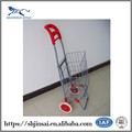Metal Chrome Plated Disabled Ssupermarket Trolley