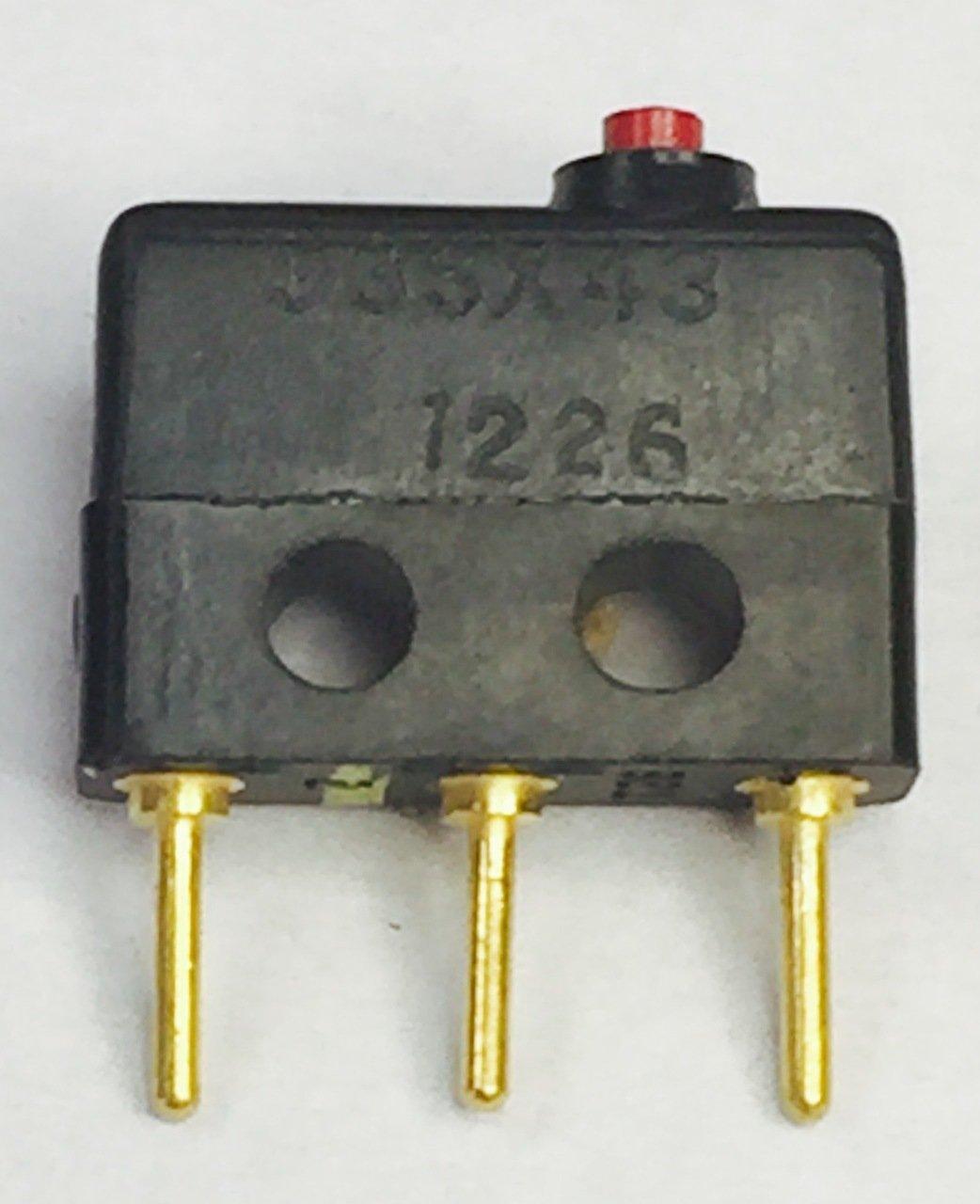 12SM4-T2 Switch SNAP Action SPDT 1A 125V