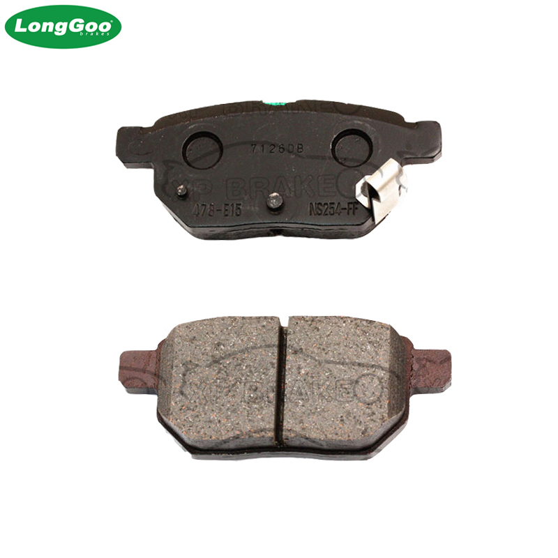 REAR BRAKE PADS FIT TOYOTA AURIS 2006-2016 1.33 1.4 1.5 1.6 1.8 VVTI D-4D 4WD