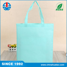 Fugang New Design Printed Logo Sewn on the gusset Tote Non Woven Lamination Shopping Bag