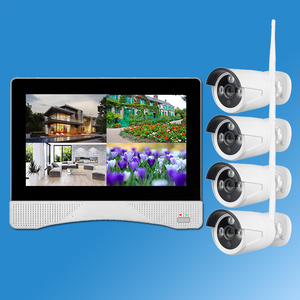 Long Range 1080P CCTV Security Cameras Wireless outdoor System 4CH Wireless NVR Kit