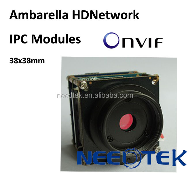 HD digital MP Ambarella CCTV security OEM ip cam module with WIFI,SD,PoE