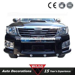 TY31605 - ABS Front Bumper For Hilux Vigo 2013