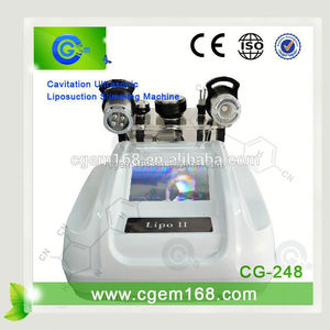 CG-248 New arrival!!! New Products for 2015 5 in 1 ultrasons portable minceur cavitation with Warranty 1 Years CE Approval