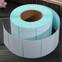 Rolls 40x30mm Printing Label Bar Code Number Thermal Adhesive Paper Stickers